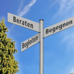 Schild Pflegedienst